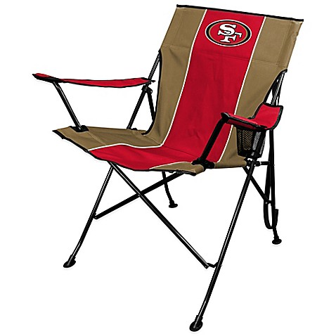 Nfl San Francisco 49ers Deluxe Quad Chair Bed Bath Amp Beyond