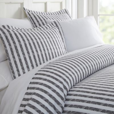 Rugged Stripes Duvet Cover Set by Bed Bath And Beyond