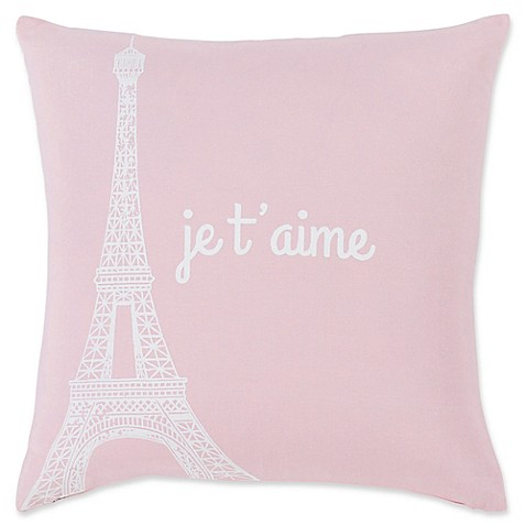 Surya Motto Novelty Square Throw Pillow by Bed Bath And Beyond