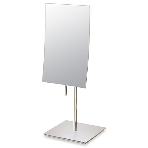 Buy Mirror Image™ Minimalist Rectangular 3X Vanity Mirror ...