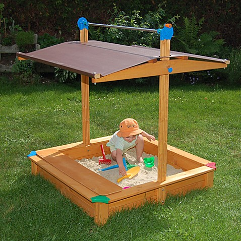 Maxi Sandbox With Storage Bench Buybuy Baby