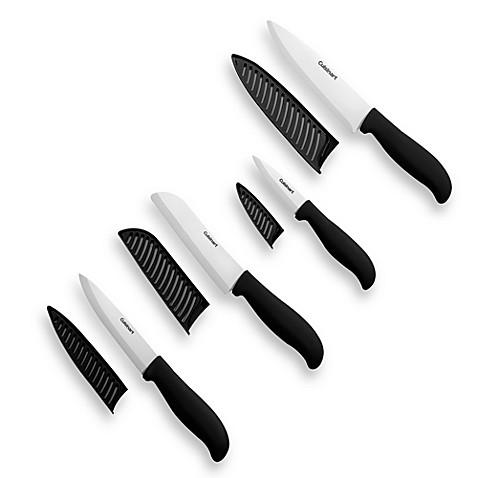 cuisinart 174 contour ceramic knives bed bath beyond