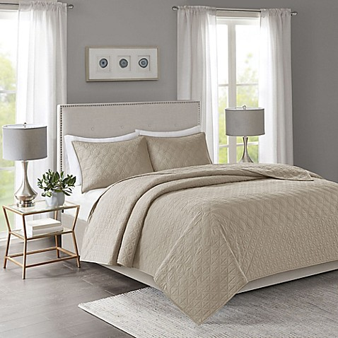 Madison Park Linnette Coverlet Set at Bed Bath & Beyond in Cypress, TX | Tuggl