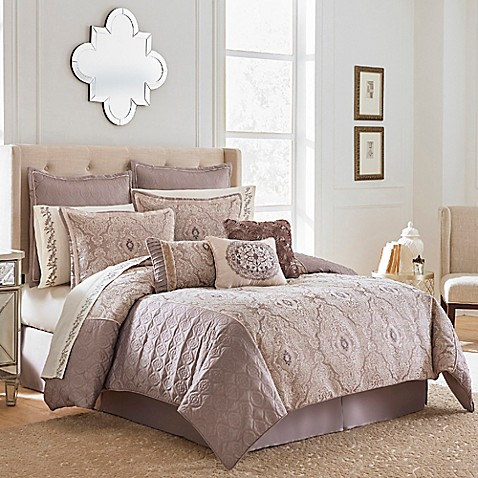 Vue Signature Quartet Comforter Set In Taupe by Bed Bath And Beyond