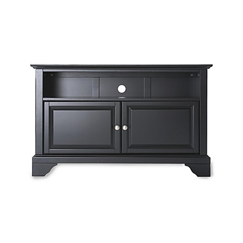 Buy Crosley Lafayette 42 Inch Tv Stand In Black From Bed Bath Beyond