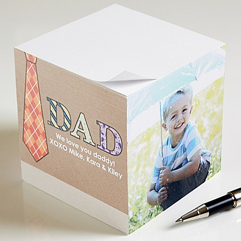Dad Photo Paper Note Cube at Bed Bath & Beyond in Cypress, TX   Tuggl