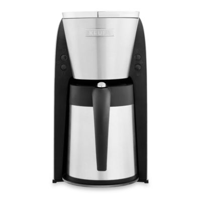 Bed Bath And Beyond Thermal Coffee Maker : Buy Krups 10-Cup Thermal Coffee Maker from Bed Bath & Beyond