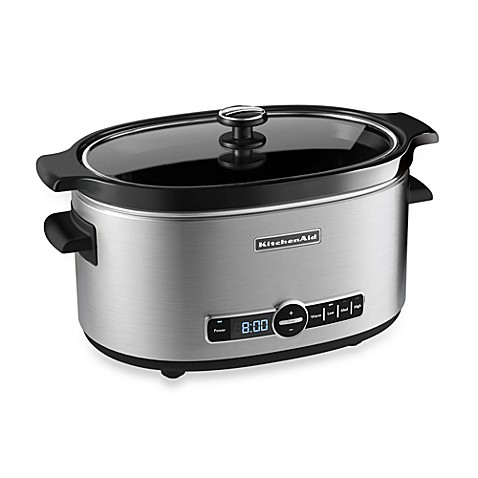 now kitchenaid slow cooker 7 quart vanity