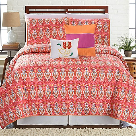 Vendom Printed Reversible Quilt Set at Bed Bath & Beyond in Cypress, TX | Tuggl