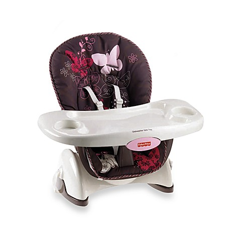 Buy Fisher Price Space Saver High Chair In Mocha Butterfly From Bed Bath Am