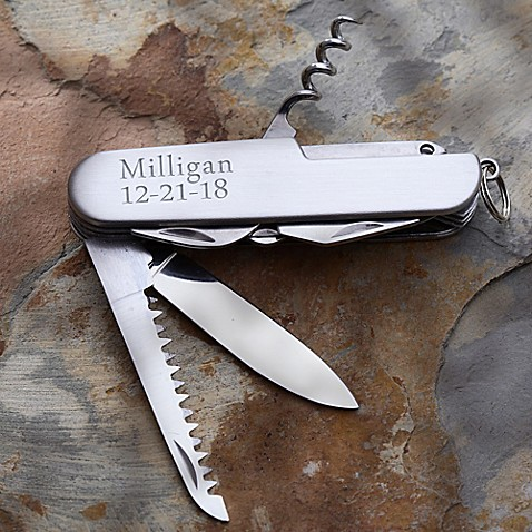 13 Function Stainless Steel Pocket Knife at Bed Bath & Beyond in Cypress, TX   Tuggl