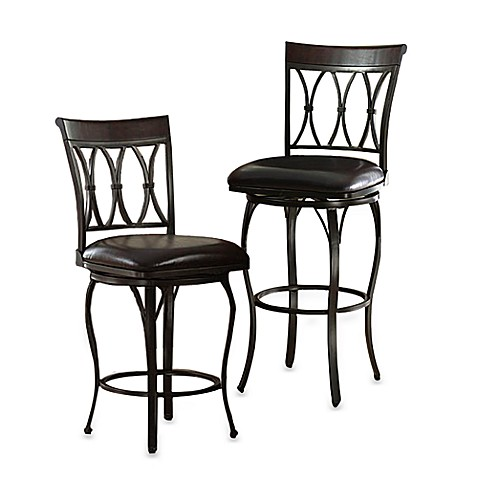 Bedford Swivel Bar Stool Bed Bath Amp Beyond