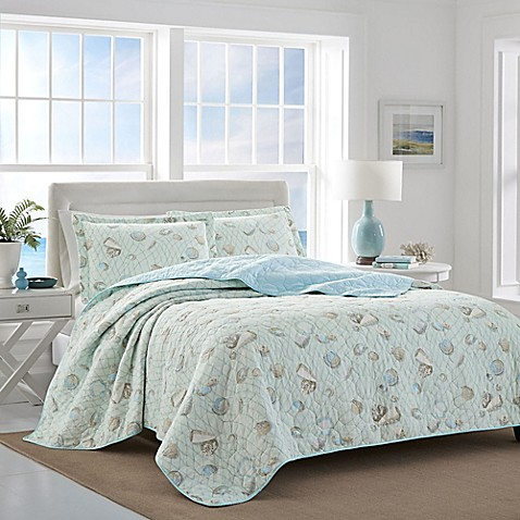 Laura Ashley® Weekly Getaway Reversible Quilt Set at Bed Bath & Beyond in Cypress, TX | Tuggl