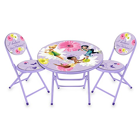 Buy Disney 174 Fairies Table And Chairs Set From Bed Bath