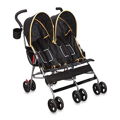 Buy Delta Lx Side By Side Umbrella Stroller In Orange From