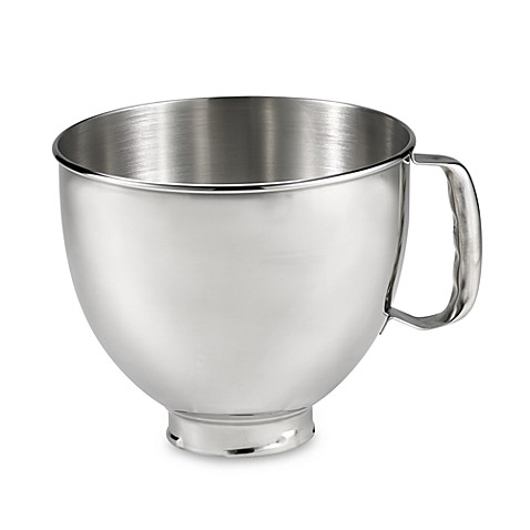 Buy Kitchenaid 174 5 Quart Polished Stainless Steel Bowl With