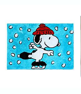 Tapete para baño Peanuts ™ Wonderland color azul