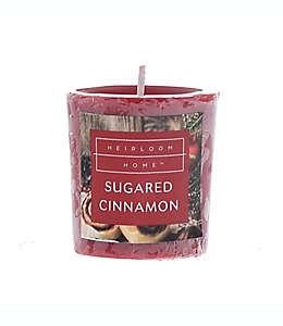 Vela votiva Heirloom Home™ Sugared Cinnamon de 49.61 g