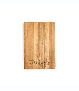 """Tabla para picar Core Kitchen™ Happy Holidays"""" de 30.48 x 45.72 cm"""