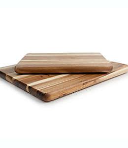 Tablas para picar Our Table de madera de acacia, 2 piezas