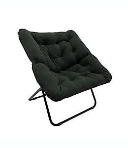 Silla Simply Essential™ Lounge color gris carbón