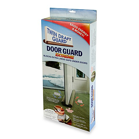 Twin Draft Blocker Extreme Double Sided Door Guard Bed
