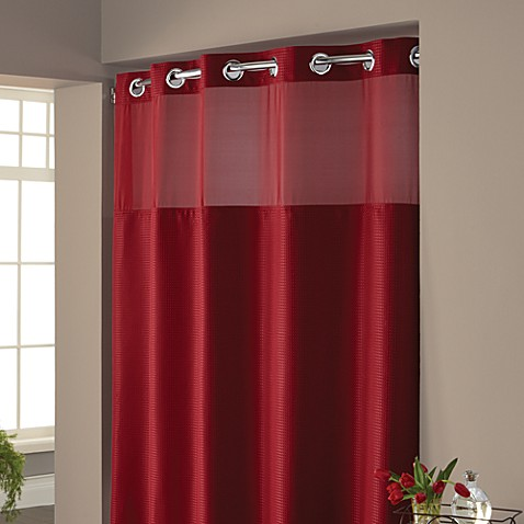 Buy Hookless 174 Waffle 71 Inch X 74 Inch Fabric Shower