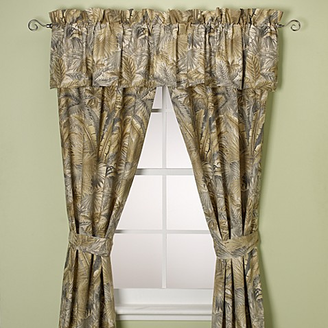 Buy Tommy Bahama Home Bahamian Breeze 84 Inch Window Curtain Panel Pair From Bed Bath Beyond