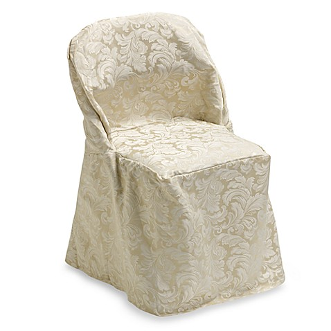Buy Ashbury Scroll Folding Chair Cover From Bed Bath Amp Beyond