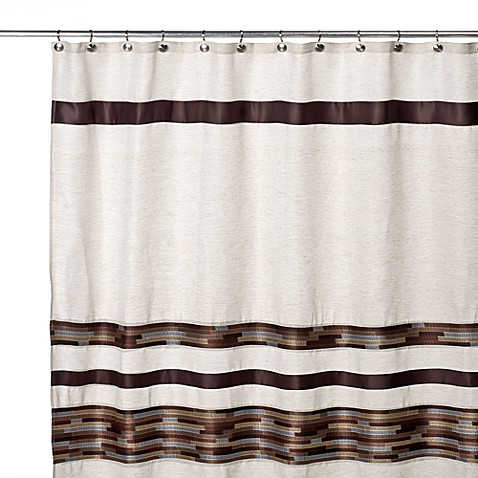 Dresden 70 Inch W X 72 Inch L Fabric Shower Curtain Bed