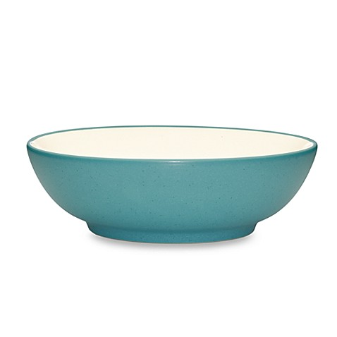 Noritake® Colorwave Cereal/Soup Bowl in Turquoise at Bed Bath & Beyond in Cypress, TX | Tuggl