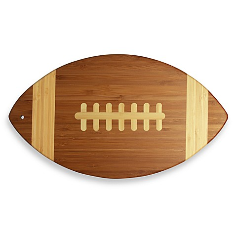 Totally Bamboo Football Cutting Board Bed Bath Amp Beyond