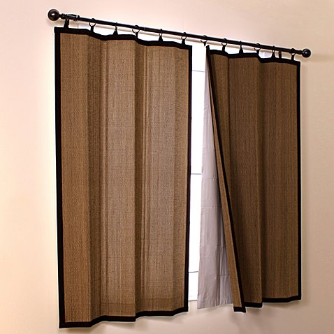 Easy Glide Bamboo Insulating Blackout And Light Filtering Thermal Liners Bed Bath Beyond