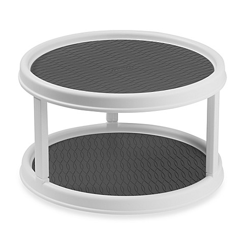 Copco Two Tiered Non Skid Turntable Bedbathandbeyond Com