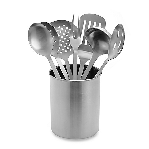 Eight Piece Stainless Steel Kitchen Utensil Set Bed Bath