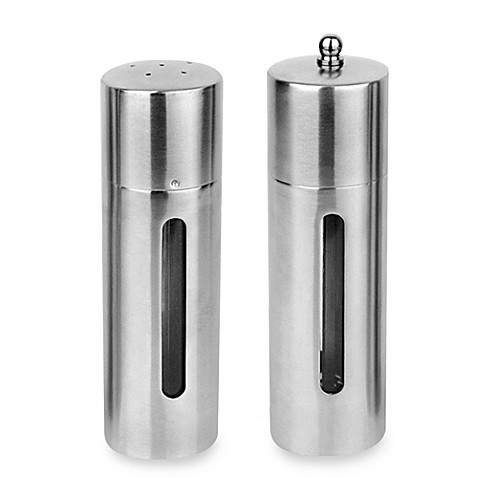 Buy Berghoff 174 2 Piece Round Salt Shaker And Pepper Mill