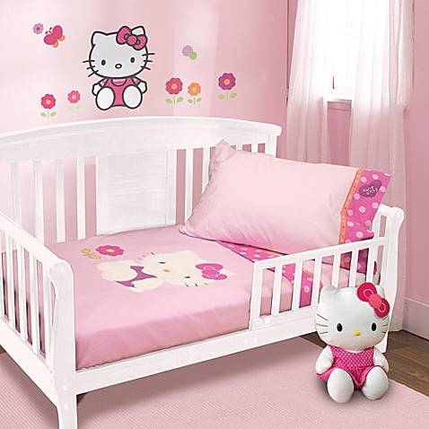 Buy Lambs Amp Ivy 174 Hello Kitty Garden 4 Piece Toddler Set