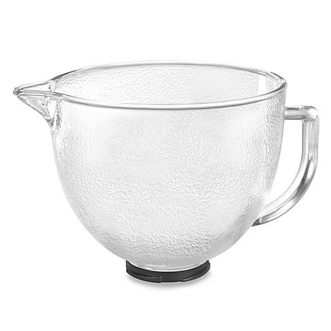 Buy Kitchenaid 174 Hammered Glass Bowl For 5 Quart Artisan
