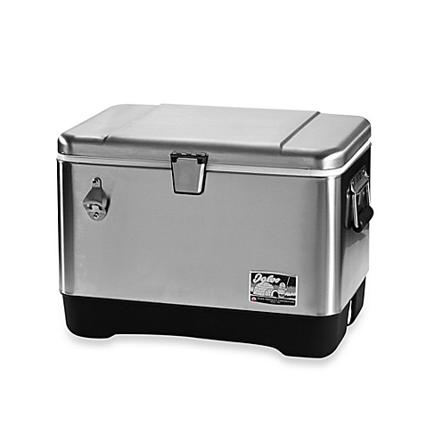 Buy Igloo 174 Stainless Steel 54 Quart Cooler From Bed Bath