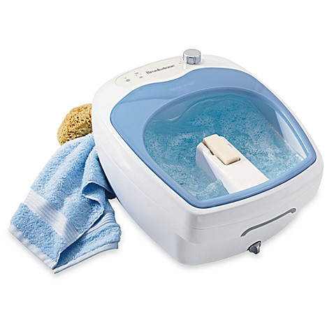 Brookstone® Aqua-Jet Heated Foot Spa® at Bed Bath & Beyond in Cypress, TX | Tuggl