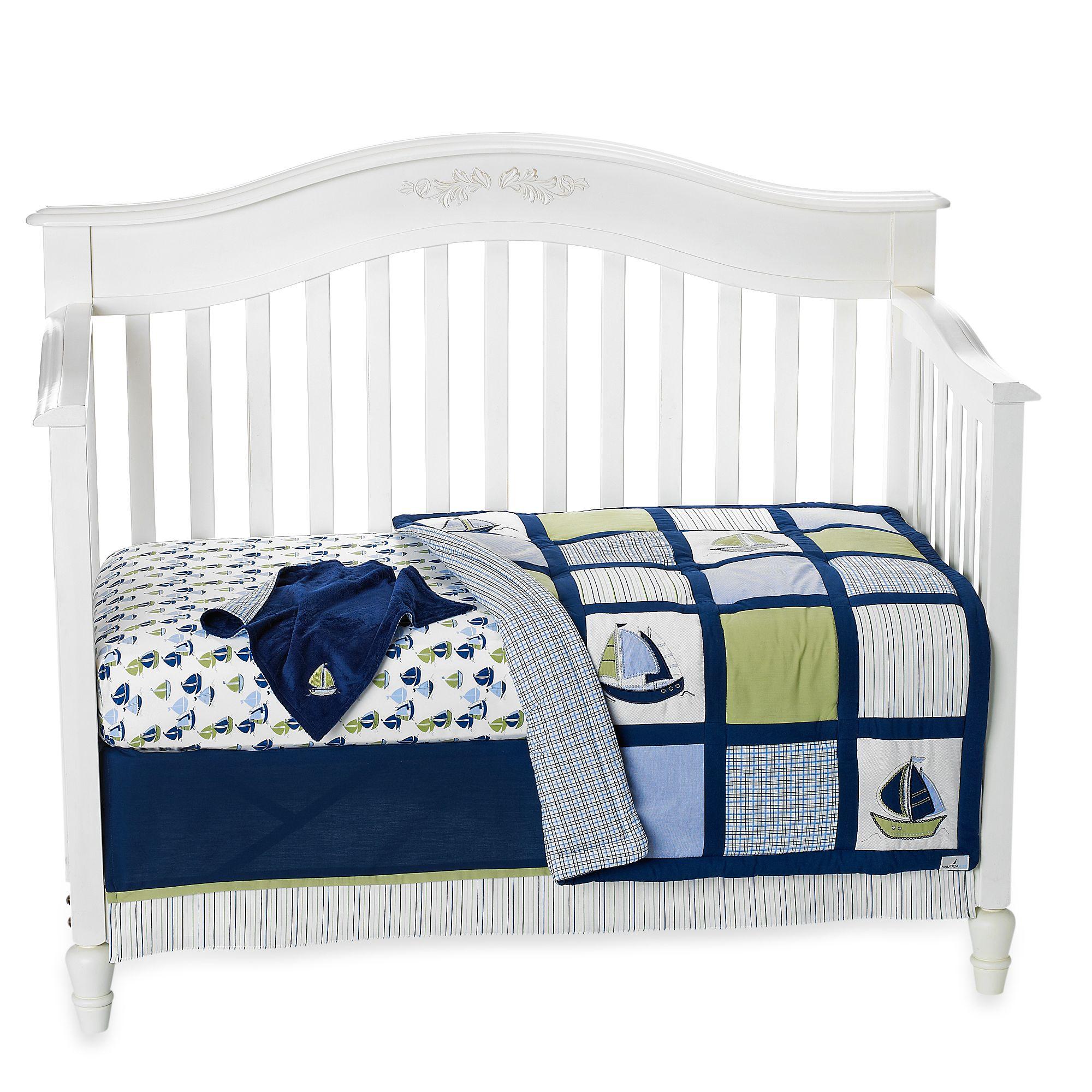 Nautica Kids® Zachary Crib Bedding Collection