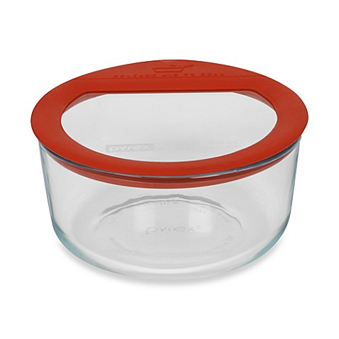 Buy Pyrex 174 No Leak 4 Cup Storage Glass Container From Bed
