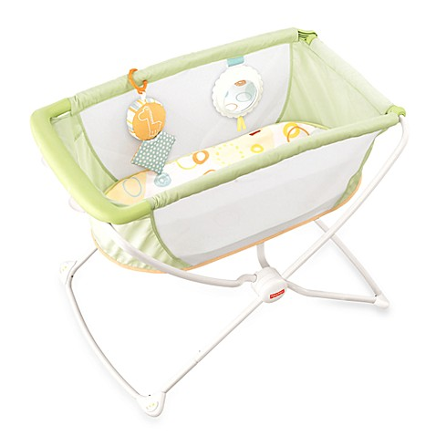 Fisher price rock n play portable bassinet buybuy baby for Portable bassinet