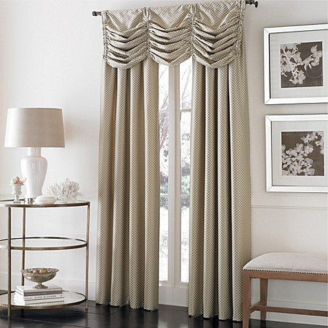 Buy Otello Honeycomb 95 Inch Pinch Pleat Window Curtain Panel In Gold From Bed Bath Beyond
