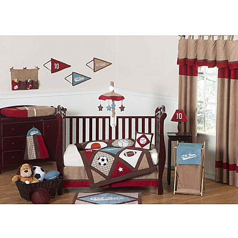 Sweet Jojo Designs All Star Sports Crib Bedding Collection ...