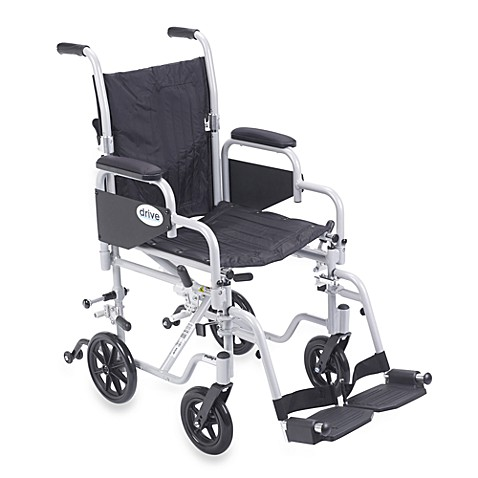 Drive Medical Poly Fly Lightweight Wheelchair Flyweight