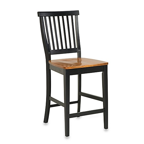 Home Styles 24 Inch Black Amp Distressed Oak Bar Stool Bed
