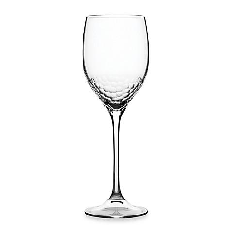 Buy vera wang wedgwood sequin wine glass from bed bath beyond - Vera wang stemware ...
