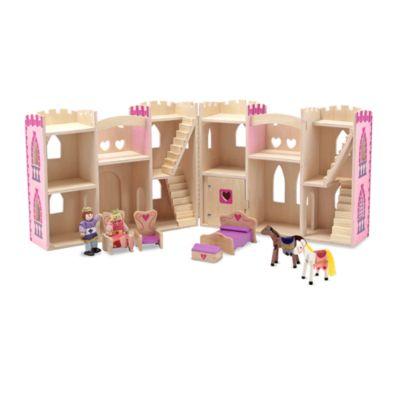 Melissa   Doug® Fold   Go Princess Castle