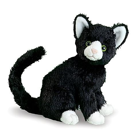 buy melissa doug midnight black cat stuffed animal from bed bath beyond. Black Bedroom Furniture Sets. Home Design Ideas